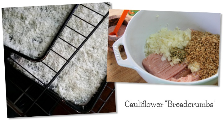 Cauliflower breadcrumbs