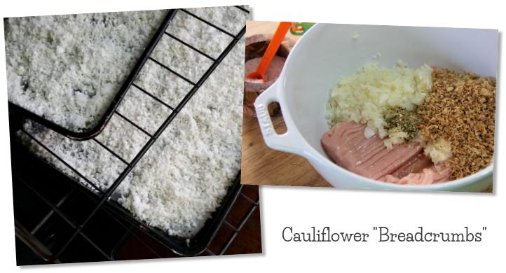 Cauliflower breadcrumbs