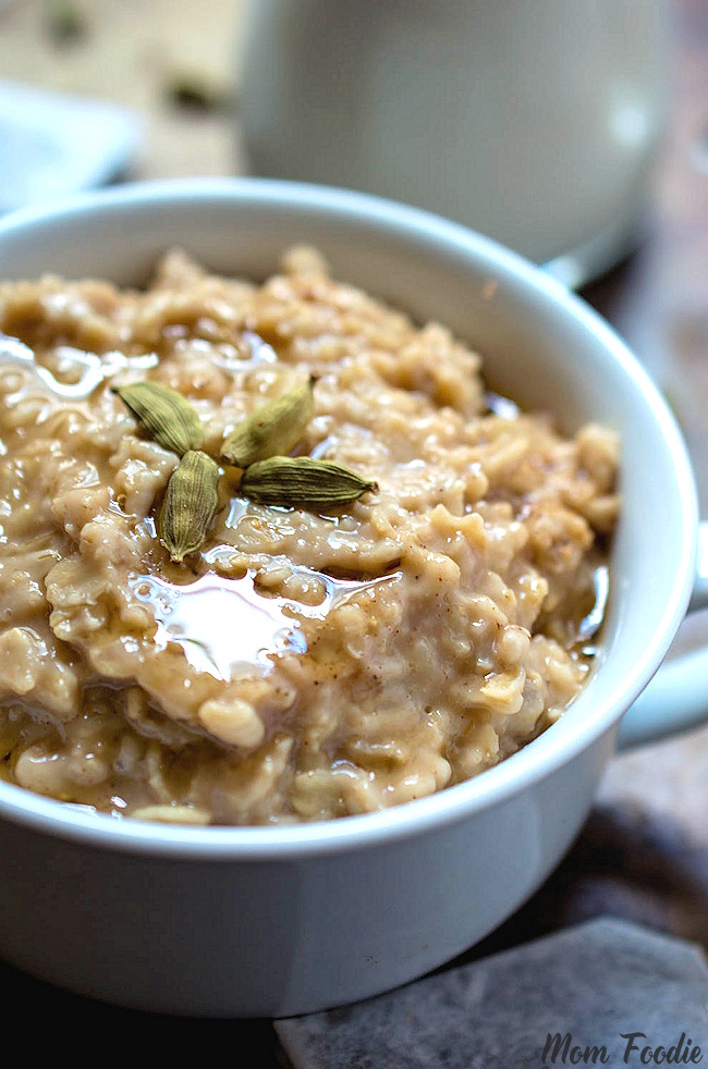 Chai Oatmeal Recipe