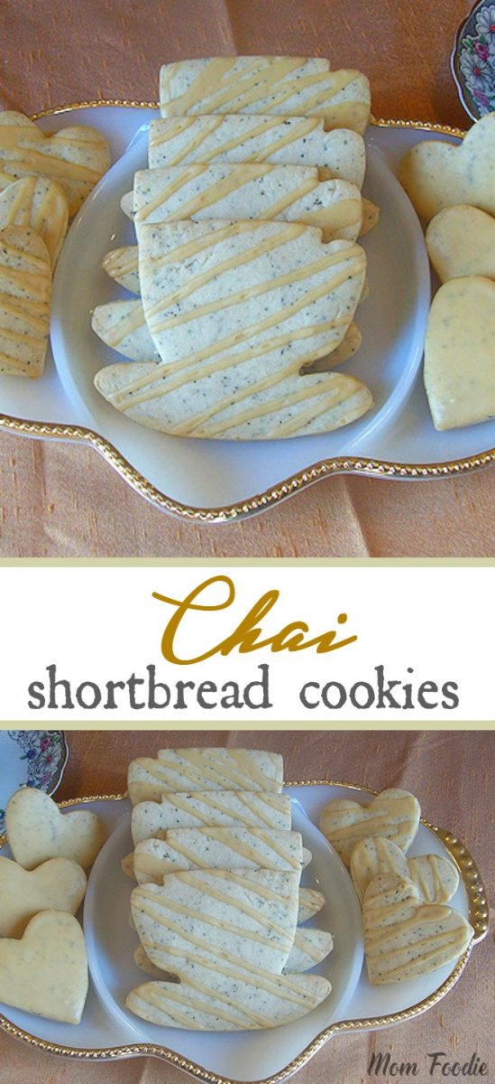 Chai Shortbread Cookies Recipe