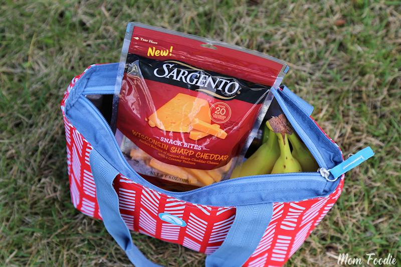 Cheese snacks picnic