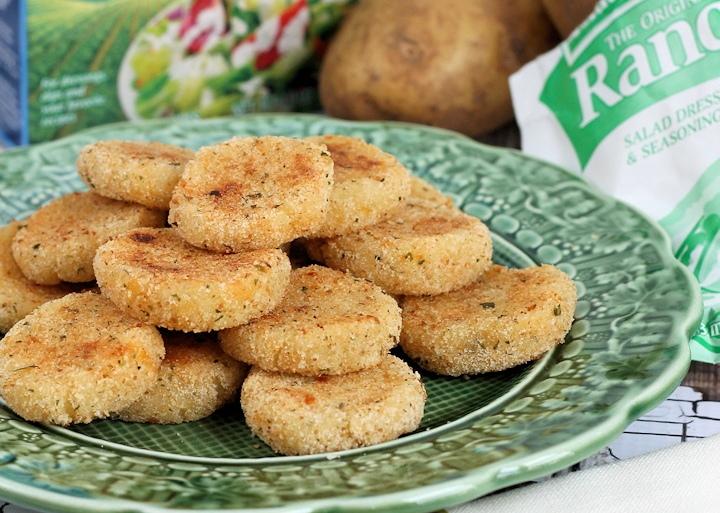 Cheesy Ranch Potato Croquettes