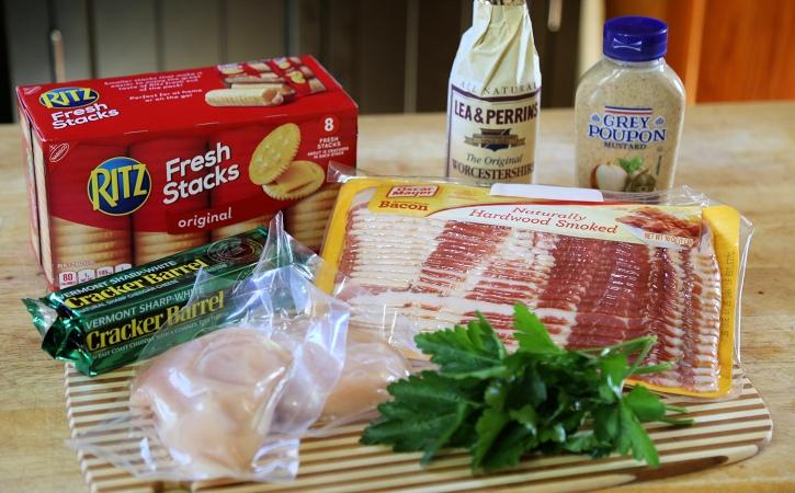 Bacon Chicken Bites ingredients