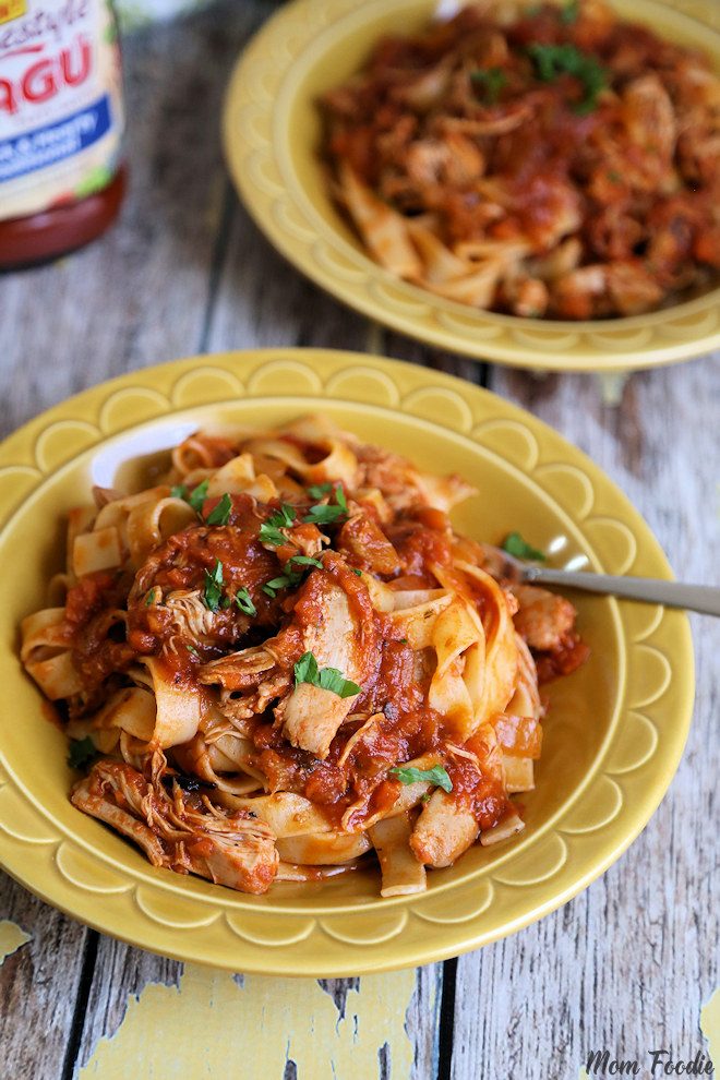 slow cooker Chicken Thigh Bolognese
