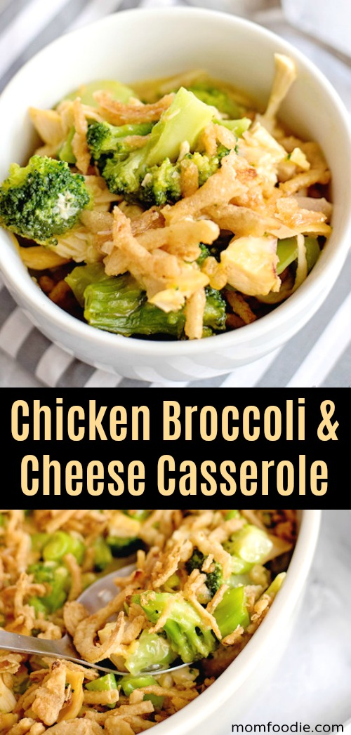 Chicken Broccoli & Cheese Casserole
