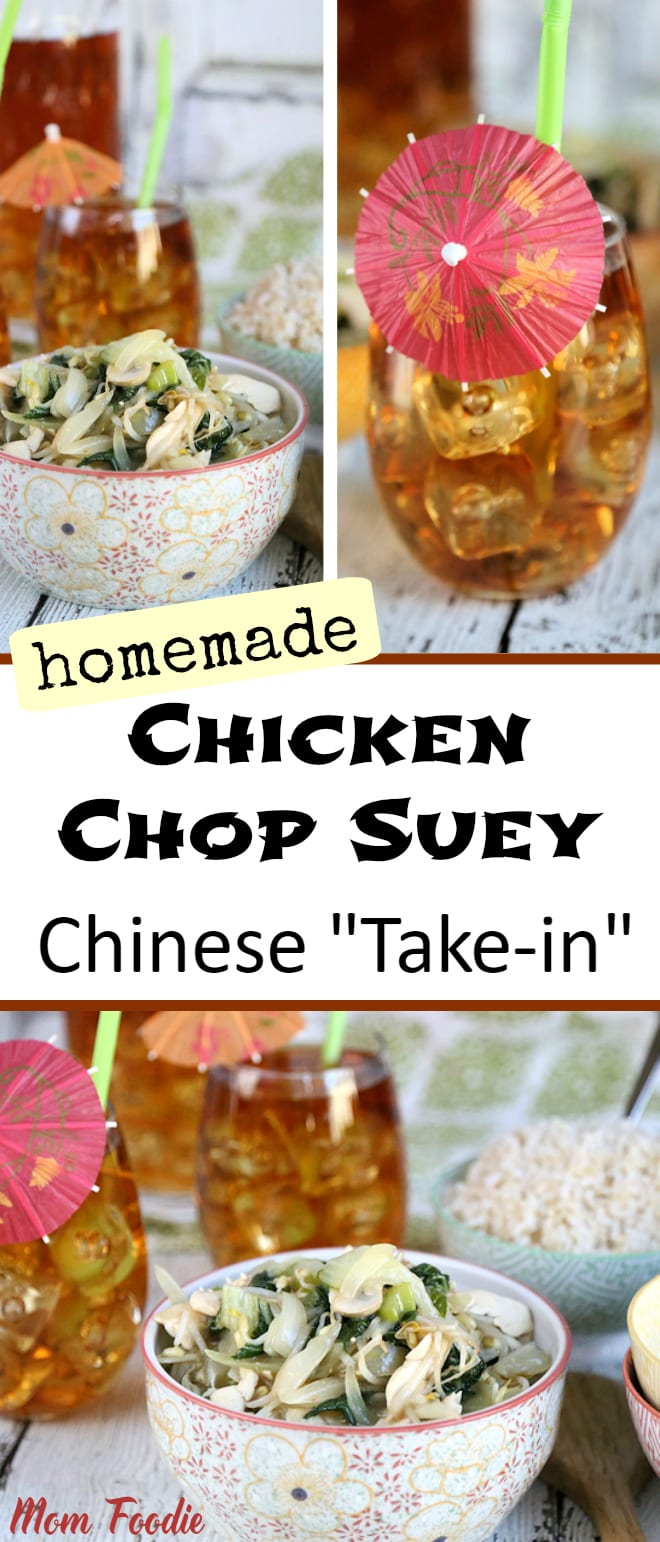 Homemade Chicken Chop Suey Recipe for Chinise Take-In Night #BrightBites