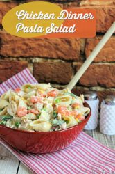 Chicken Dinner Pasta Salad Recipe