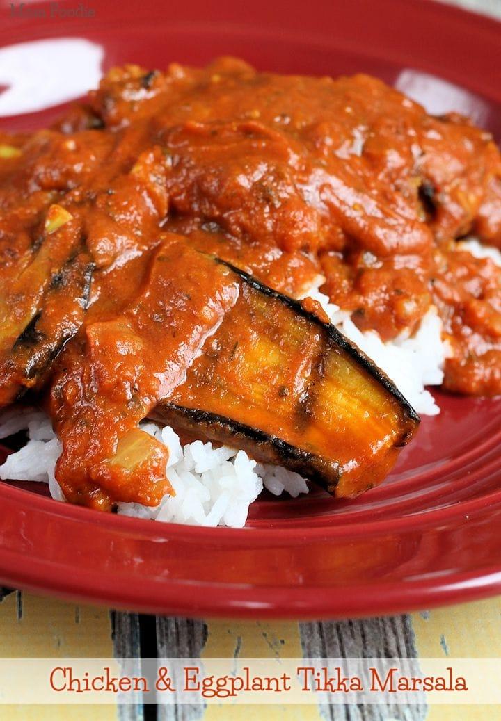 Chicken And Eggplant Tandoori Tikka Masala Recipe