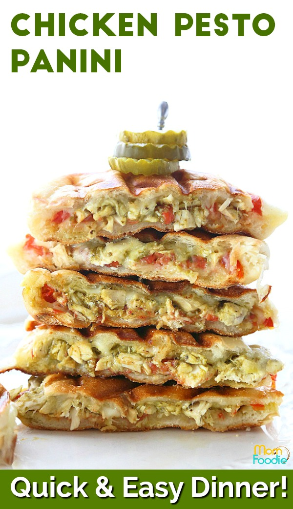 Chicken Pesto Panini Pinterest