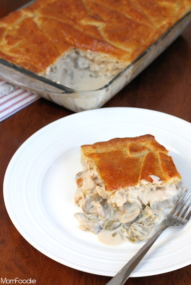 Chicken Pot Pie Casserole Recipe