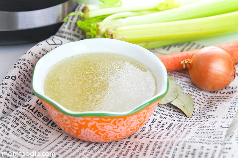 Chicken bone broth recipe Instant Pot