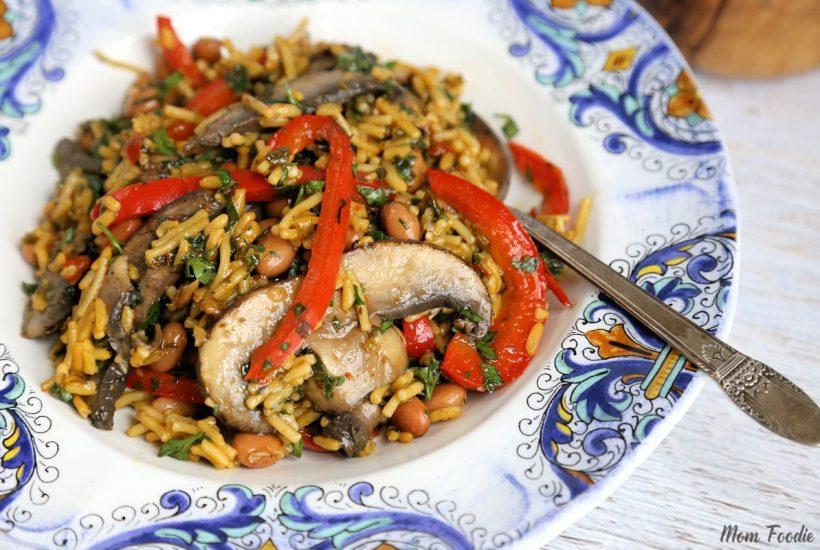 Chimichurri Portabella Rice