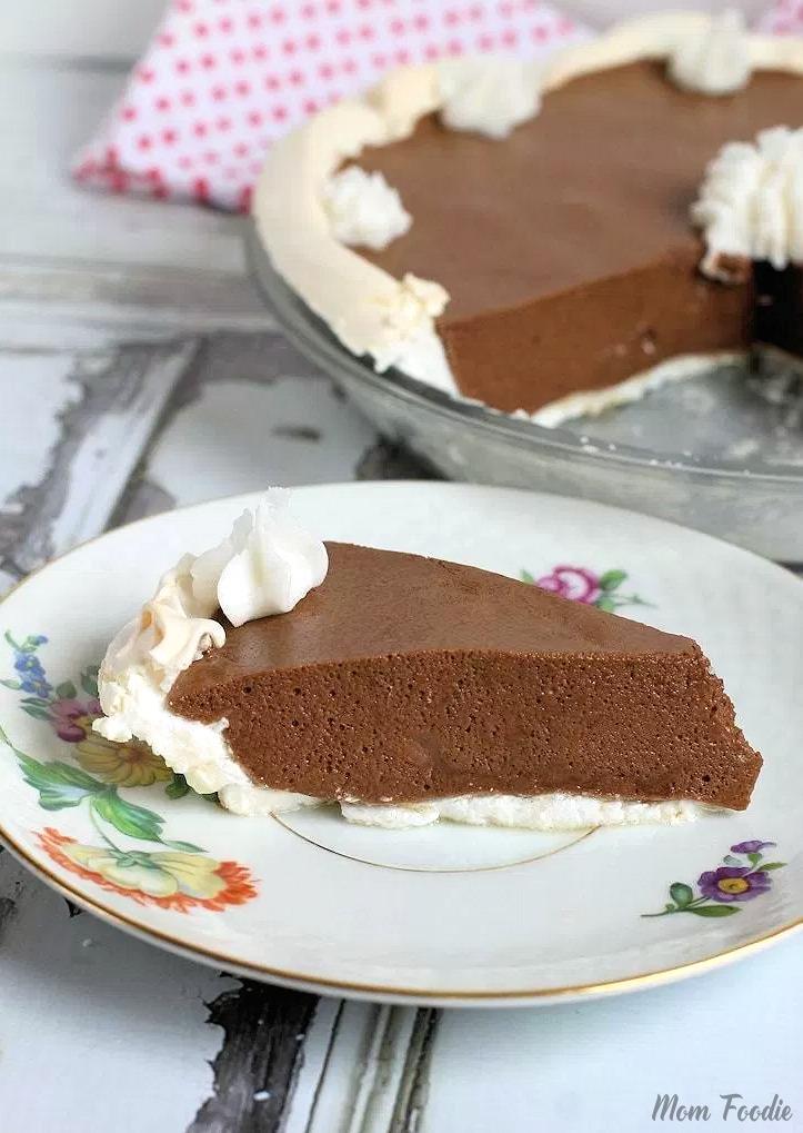 Chocolate Angel Pie Recipe