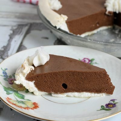 Chocolate Angel Pie Recipe (dairy-free, gluten-free)