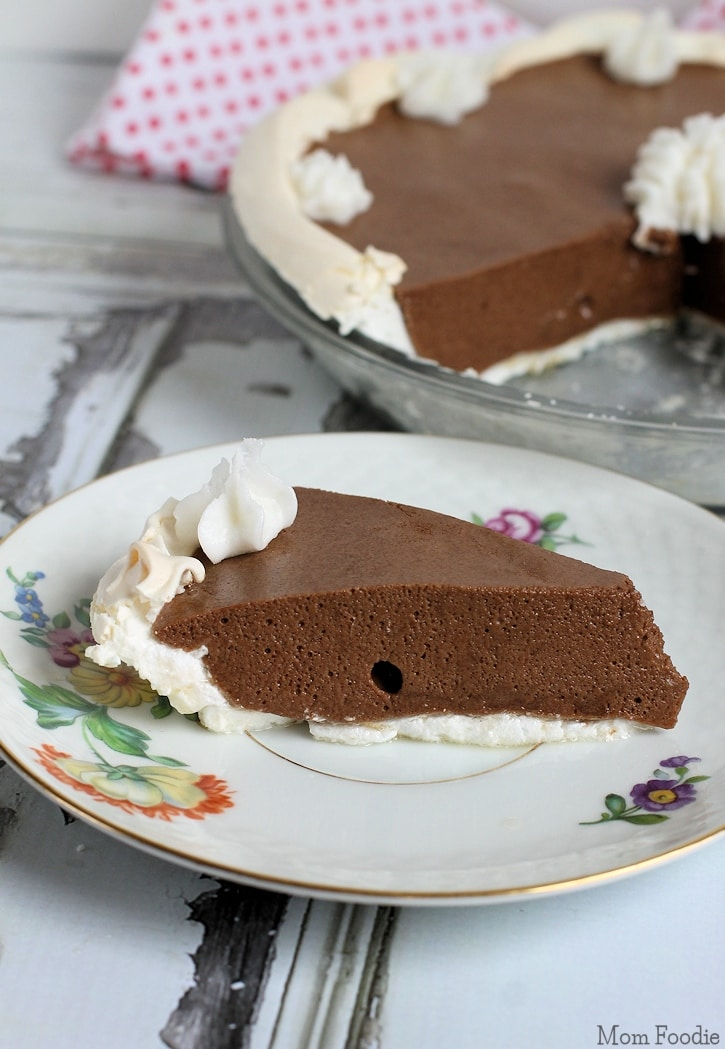 Chocolate Angel Pie Non-Dairy Recipe