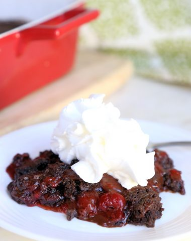 Chocolate Cherry Dump Cake