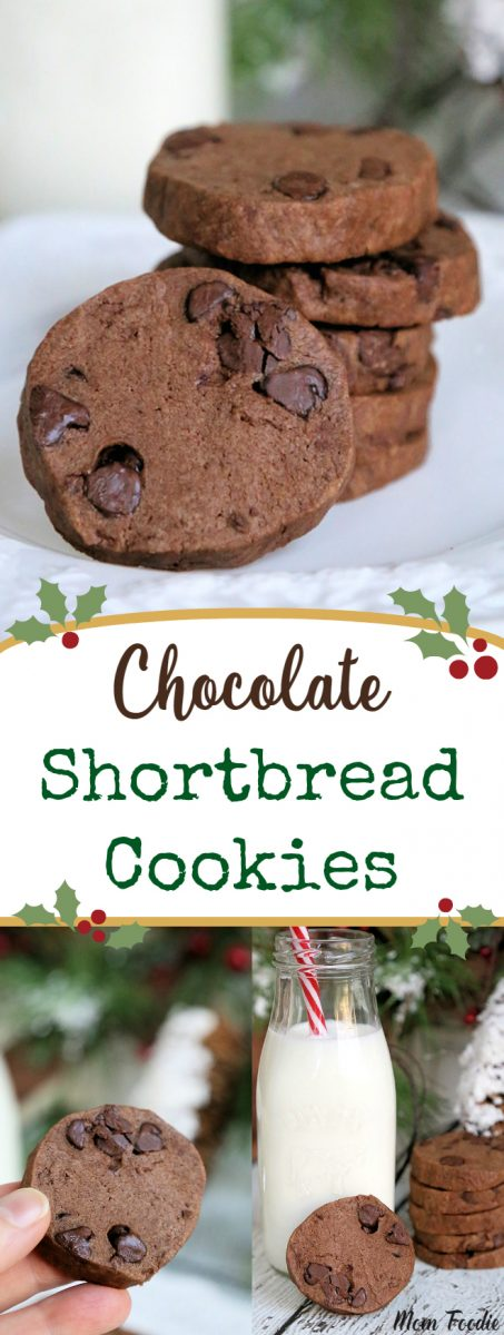 Double Chocolate Shortbread Cookies Recipe