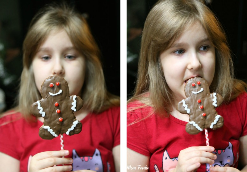 Christmas Rice Krispies Treats Pops