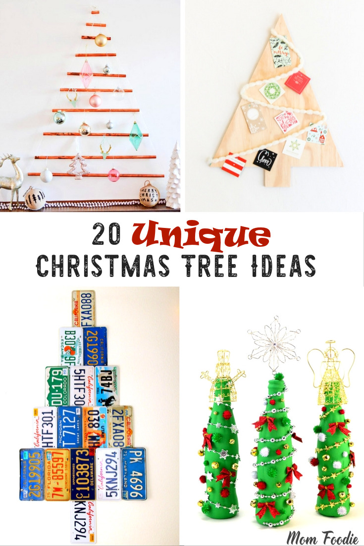 Unique Christmas Tree Ideas DIY Holiday Trees