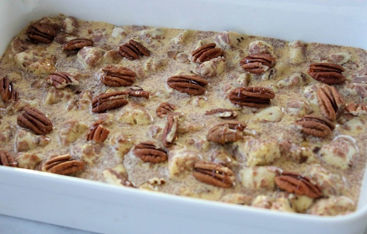 Cinnamon Roll French Toast Casserole 3