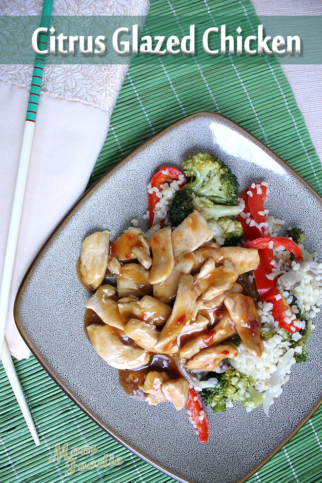 Citrus Glazed Chicken Stir fry
