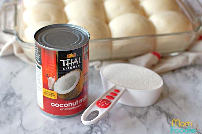 Coconut Sauce ingredients