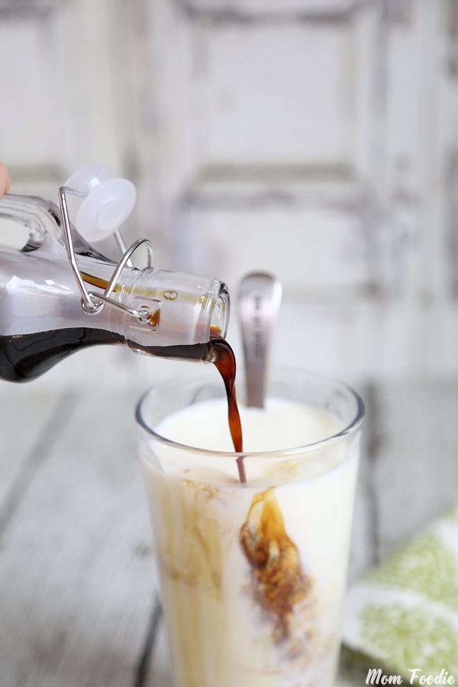 Coffee Milk Homemade Syrup