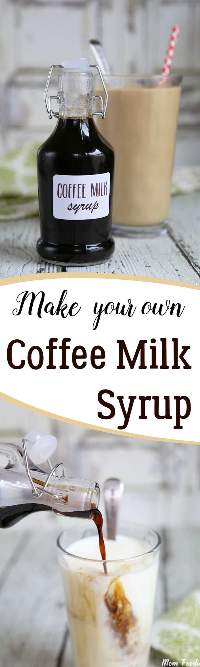 Coffee Milk Syrup Recipe & Free Printable Labels