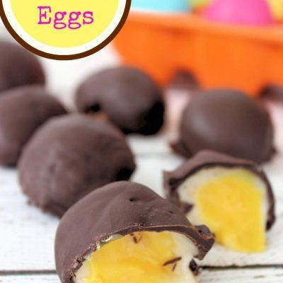 Copycat Cadbury Eggs Recipe
