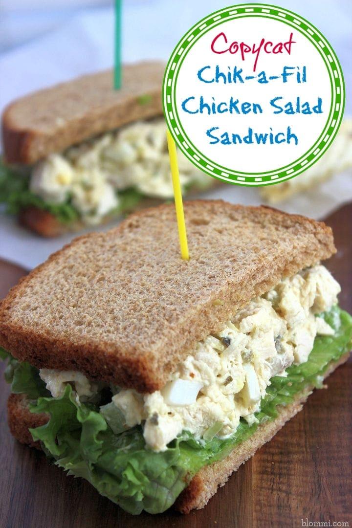 Copycat Chik-fil-a Chicken Salad Sandwich