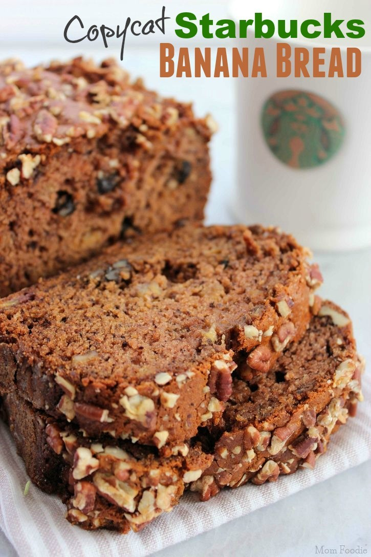 Starbucks Banana Bread Recipe Copycat