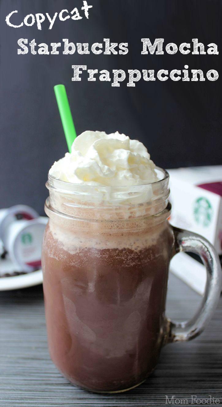 Copycat Starbucks Mocha Frappuccino