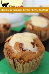 Copycat Starbucks Pumpkin Cream Cheese Muffins Recipe