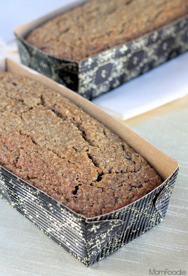 Cranberry Apple Oatmeal bread recipe