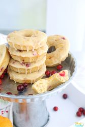 Cranberry Donuts