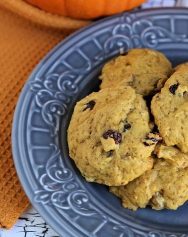 Cranberry Walnut Pumpkin Cookies Recipe