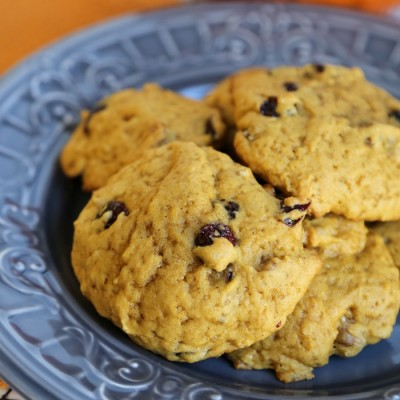 Cranberry Walnut Pumpkin Cookies Recipe