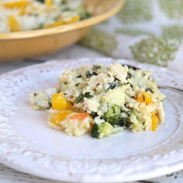 Creamy Chicken Rice Dinner