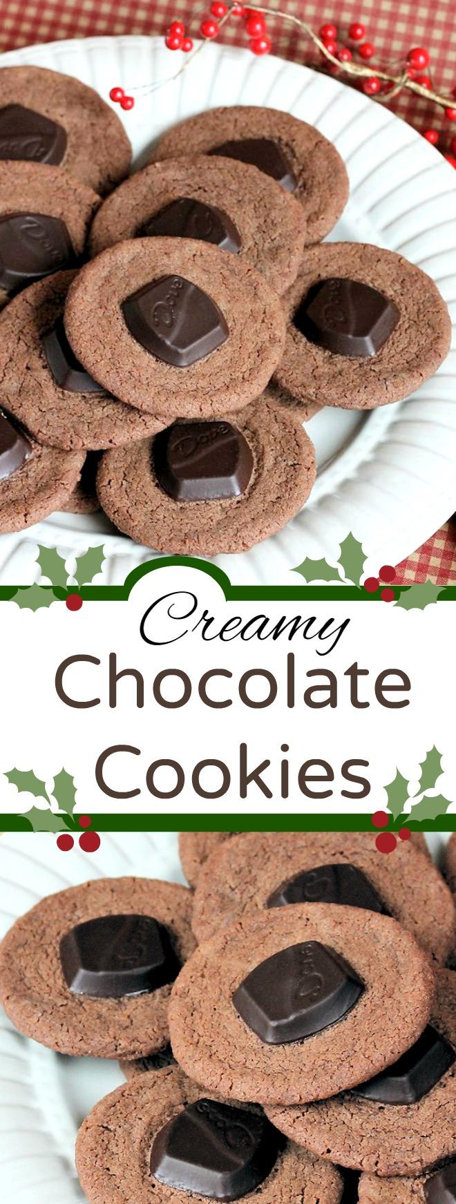 Creamy Chocolate Cookies