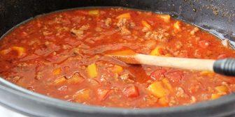 Crock Pot Meat Sauce Recipe