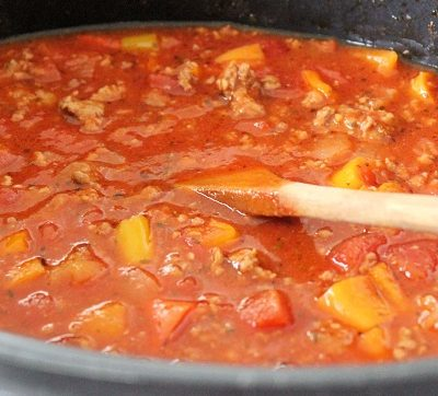 Crock Pot Meat Sauce Recipe