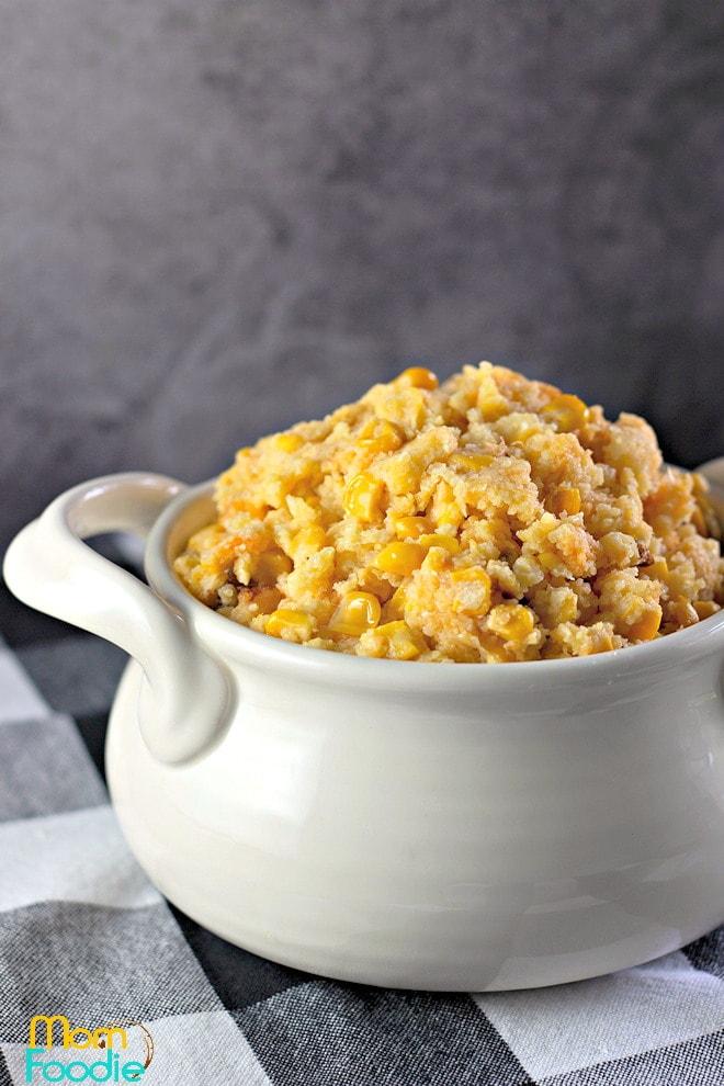 Crockpot Corn Casserole