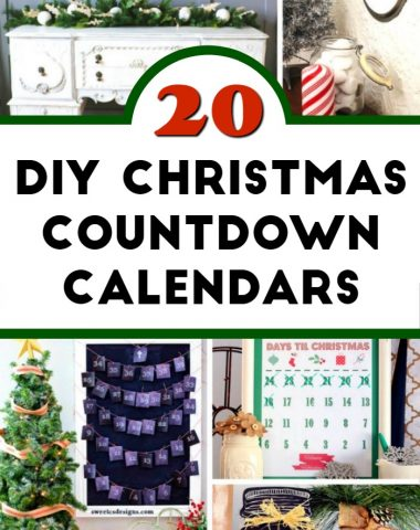 DIY Christmas Countdown Calendar Ideas