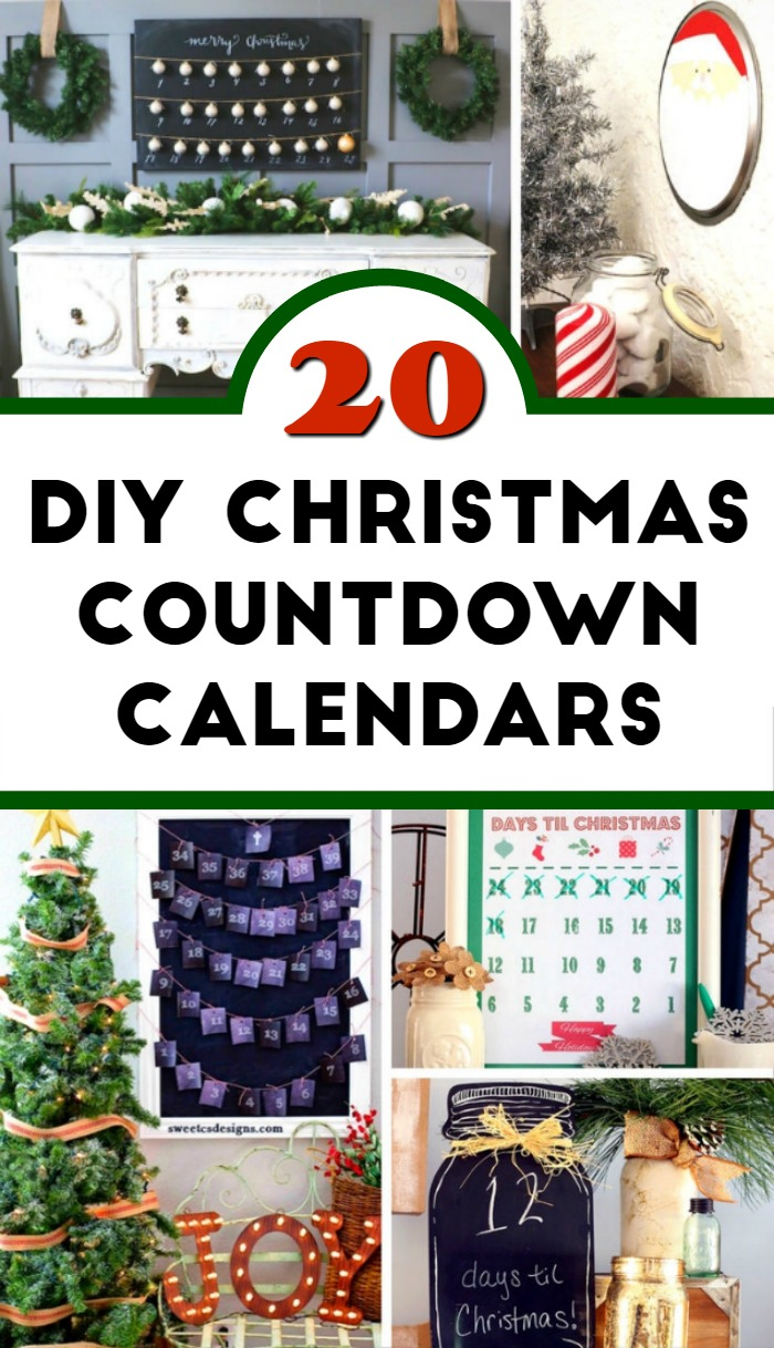 Diy Calendar Countdown : Diy christmas countdown calendar ideas mom foodie