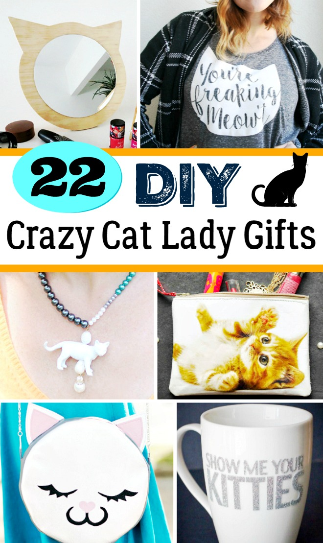 DIY Crazy Cat Lady Gifts