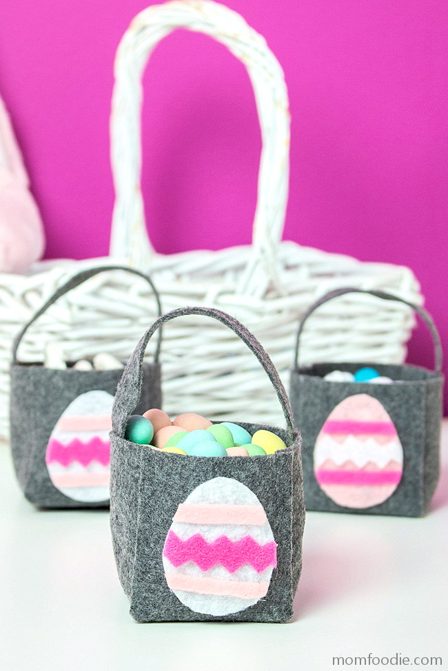 DIY Easter Basket Felt Mini