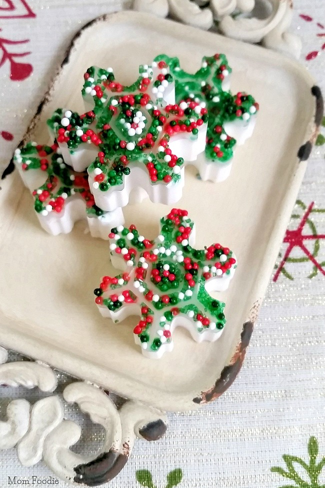 DIY Holiday Soaps