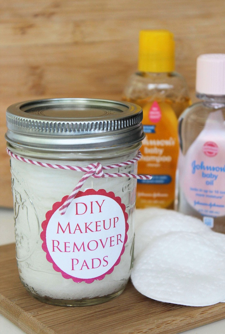 Homemade Make Up Remover Pads
