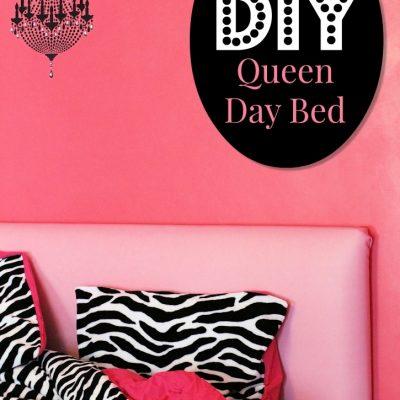 Little Diva DIY Queen Day Bed