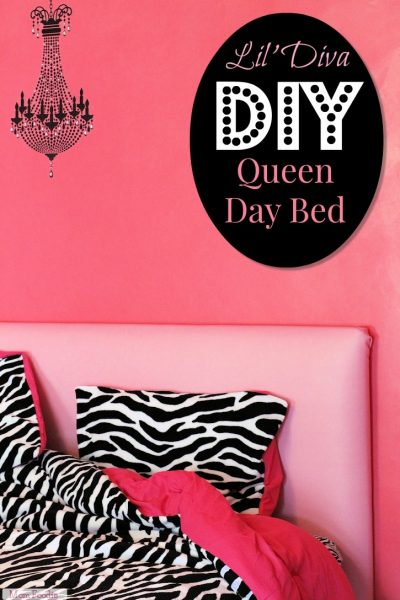 DIY Queen Day Bed